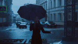 día lluvioso