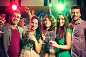 fiesta de fin de año corporativa